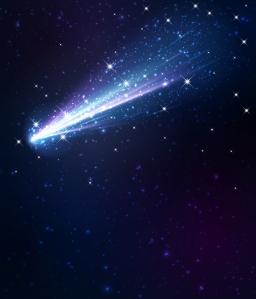 Comet background.