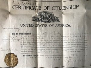 Ancestor Naturalization Papers
