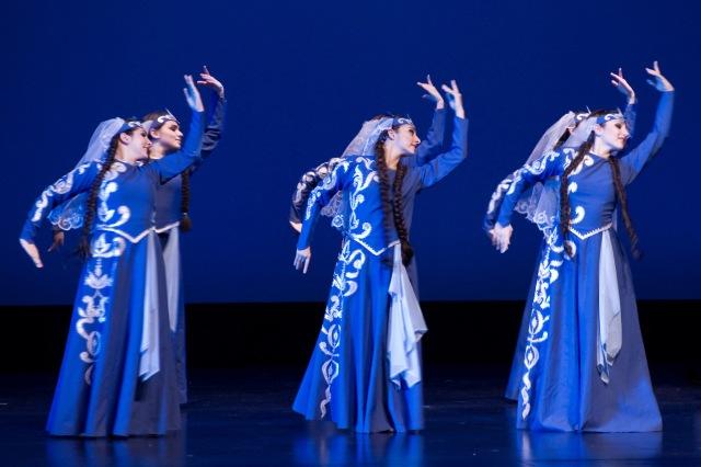Armenian dancers