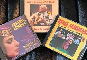 Armenian CDs (4)
