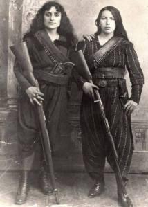 TwoArmenianWomenW_Rifles